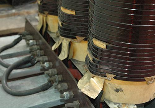 HT single-phase transformer in oil