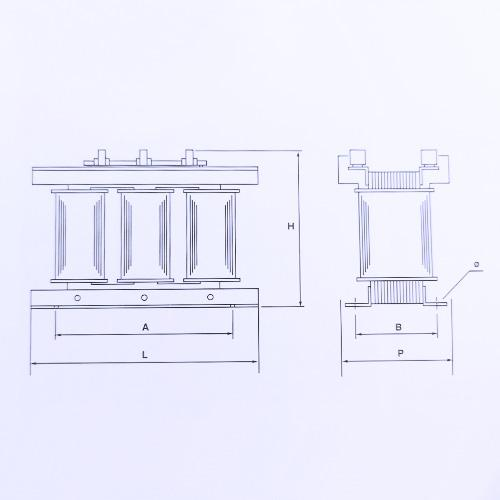 Schéma transformateurs 1.6 KVA to 8 KVA