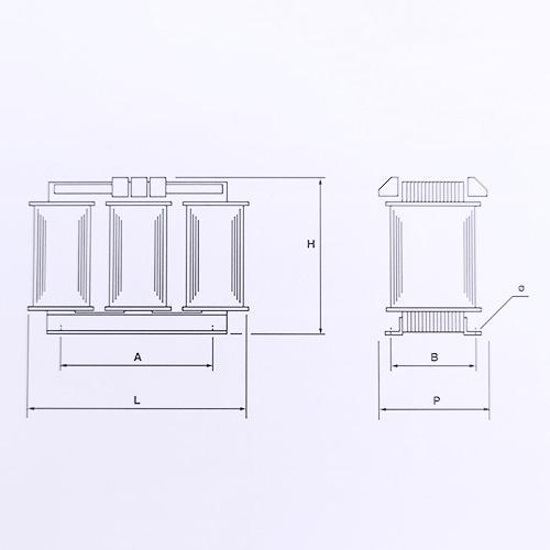 Schéma transformateurs 63 VA de 1 KVA