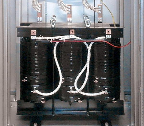 Transformateur triphasé de 200 KVA