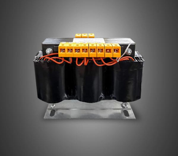 Three-phase transformers for switchboard of 630VA