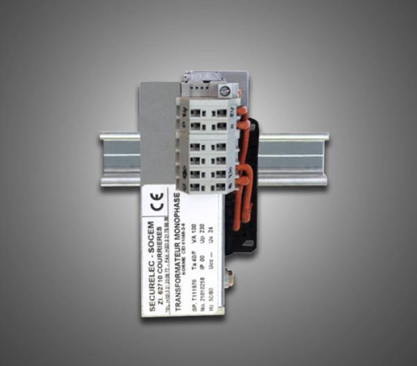 Transformateur T-MODUL monté 230/24 V